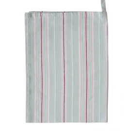 "Geschirrtuch, ""TEA TOWEL MULTI STRIPES GREY"", Krasilnikoff"