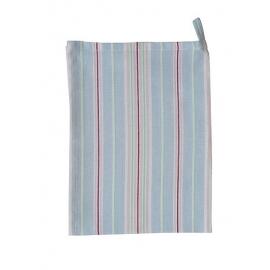 """Geschirrtuch """"Streifen"""", blau/Towel,  stripes, blue, Krasilnikoff"""