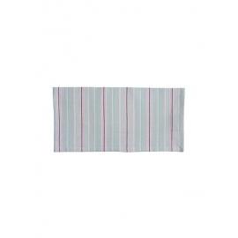 """Stoffserviette """"Streifen"""", grau/napkin, stripes, grey, Krasilnikoff"""