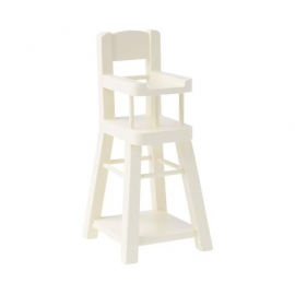 Baby Stuhl, Mikro, weiß, Maileg