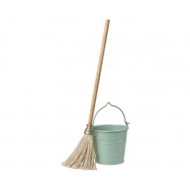 Putz-Set/bucket&mop, Maileg