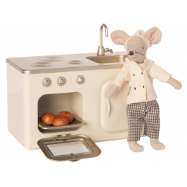 Mini Küche aus Metall (ohne Maus), Maileg