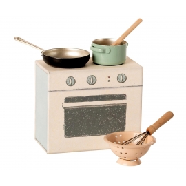 Kochset/Cooking set, Maileg