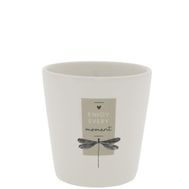 """Becher """"Genieße jeden Moment""""/cup """"Enjoy every Moment"""", Bastion Collections"""