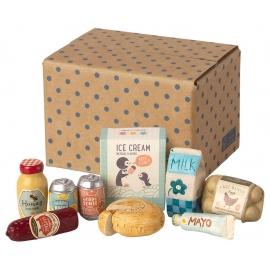 Lebensmittelkiste/grocery box, Maileg