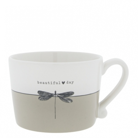 Tasse, Weiß/Beautiful Day, Bastion Collections